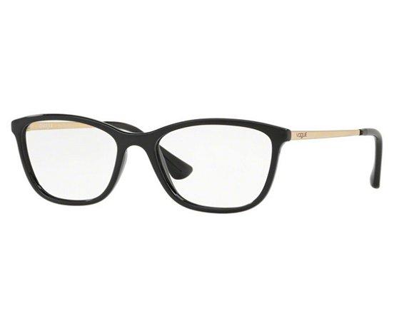 154a4074da8ab Armação Óculos de Grau Vogue Feminino VO5219L W44 - Ótica Quartz