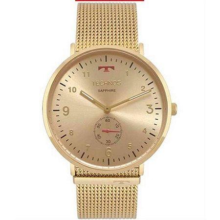 867ceb0cd63 Relógio Technos Unissex Classic Slim Analógico 1L45AX 4A - Ótica Quartz