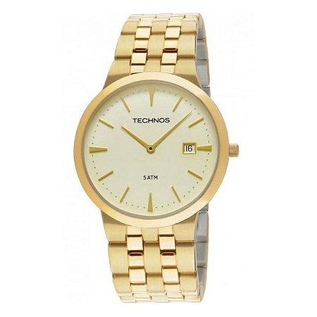 a5cb2690279e9 Relógio Technos Masculino Classic Slim Analógico 1M15AN 4X - Ótica ...