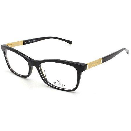 Armação Óculos de Grau Bulget Feminino BG6188 A01 - Ótica Quartz 657396132a
