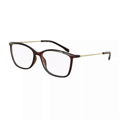 a6d0cb9b29196 Armação Óculos de Grau Bulget Feminino BG4044 T01 - Ótica Quartz