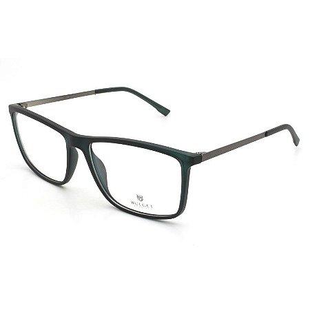 ebb2253692cb8 Armação Óculos de Grau Bulget Masculino BG4039L T03 - Ótica Quartz