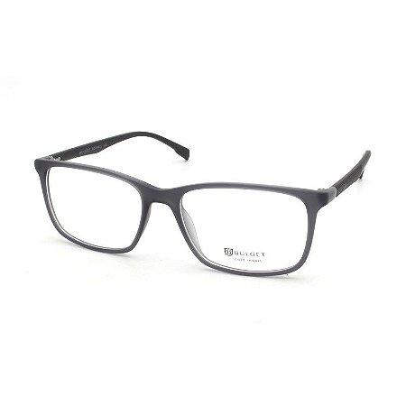 b8dd26c49a10b Armação Óculos de Grau Bulget Masculino BG4107 T01 - Ótica Quartz