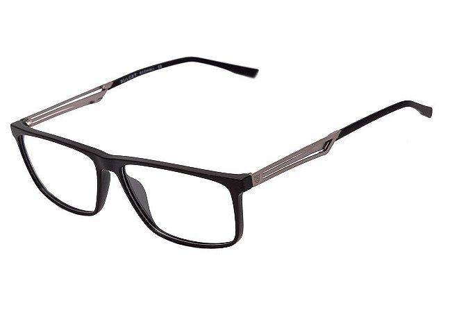 65e54b40dd649 Armação Óculos de Grau Bulget Masculino BG4113 A01 - Ótica Quartz
