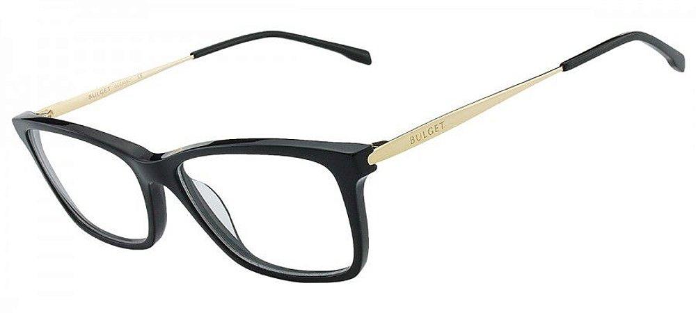 Armação Óculos de Grau Bulget Feminino BG6220L A01 - Ótica Quartz eb9ecf2dac