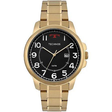 959503b0a1d Relógio Technos Masculino Classic Steel Analógico 2115MPA 4P - Ótica ...