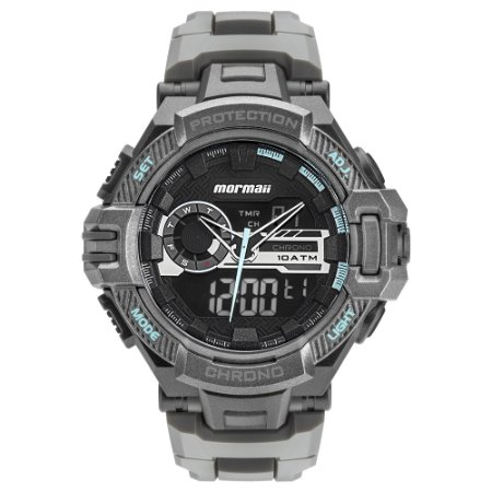 262f740f118 Relógio Mormaii Masculino Acquaforce Anadigi MOAD1134 8A - Ótica Quartz