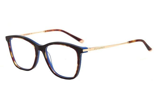 16b8b726f8c8a Armação Óculos de Grau Ana Hickmann Feminino AH6269 G21 - Ótica Quartz