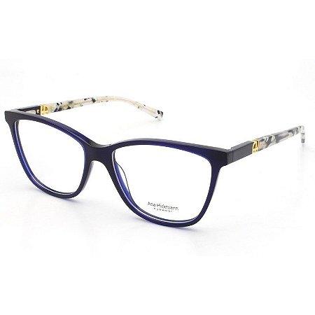 158eaa8a912cf Armação Óculos de Grau Ana Hickmann Feminino AH6313 T03 - Ótica Quartz