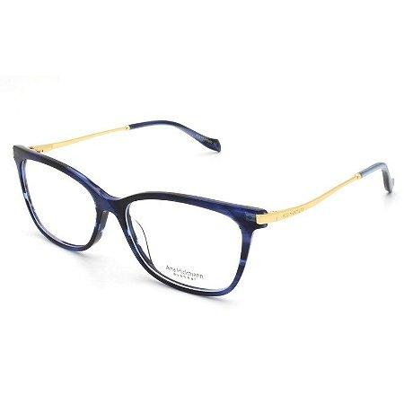 a72e6f8bfff3b Armação Óculos de Grau Ana Hickmann Feminino AH6357 E02 - Ótica Quartz