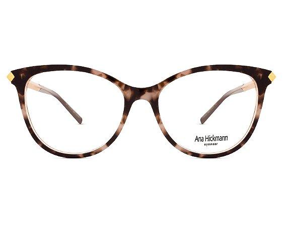 Armação Óculos de Grau Ana Hickmann Feminino AH6321 H02 - Ótica Quartz ee30f9d332