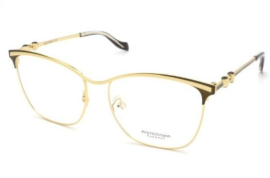 6402b1d9a5208 Armação Óculos de Grau Ana Hickmann Feminino AH1361 01A - Ótica Quartz