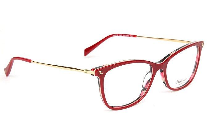 3fa4bd5aa Armação Óculos de Grau Hickmann Feminino HI6116 H02 - Ótica Quartz