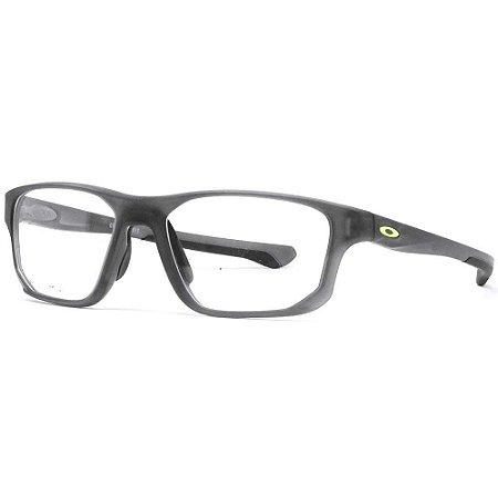 Armação Óculos de Grau Oakley Masculino Crosslink Fit OX8136-02 55