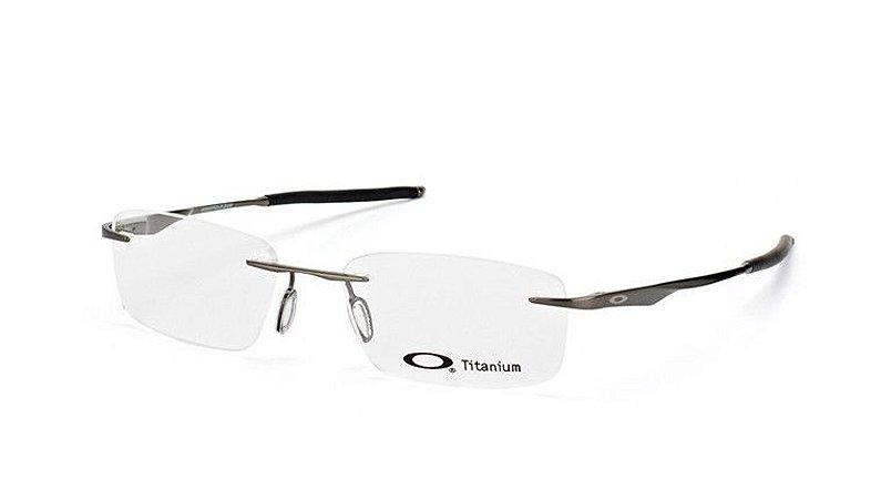Armação Óculos de Grau Oakley Masculino Wingfold EVS OX5118-03 53
