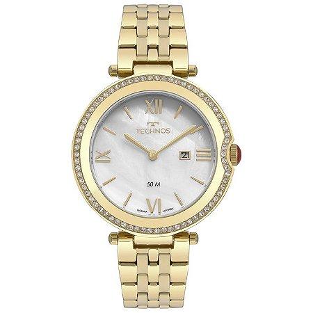 Relógio Technos Feminino Elegance St. Moritz Analógico GL15AT/4B