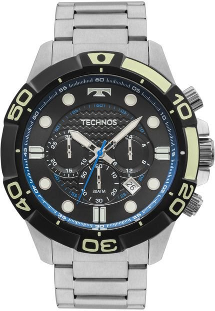 Relógio Technos Masculino Performance Acqua Analógico JS25BQ/1P