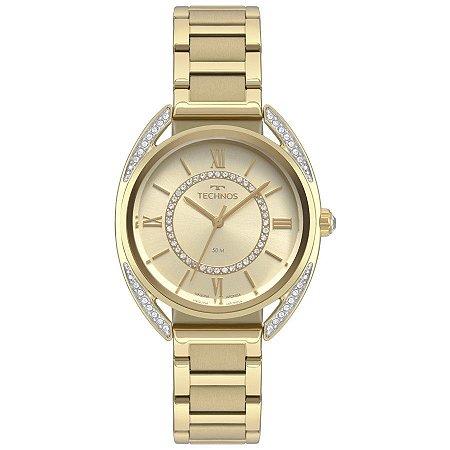 Relógio Technos Feminino Elegance Crystal Analógico 2035MRD/4X
