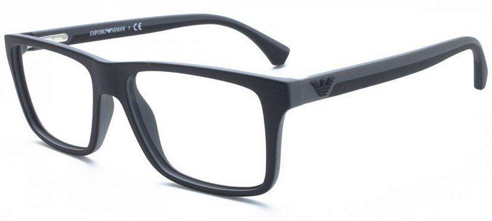 e9622f071 Armação Óculos de Grau Emporio Armani Masculino EA3034 5229 - Ótica ...