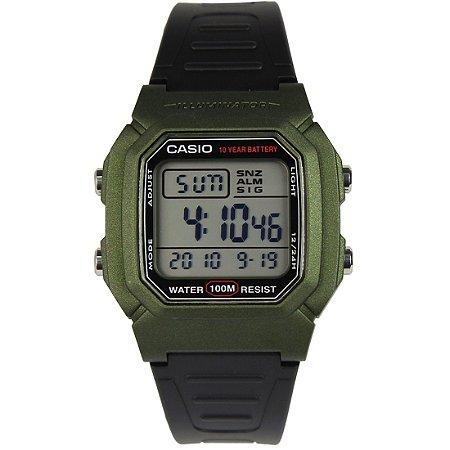 Relógio Casio Masculino Illuminator Digital W800HM3AVDF
