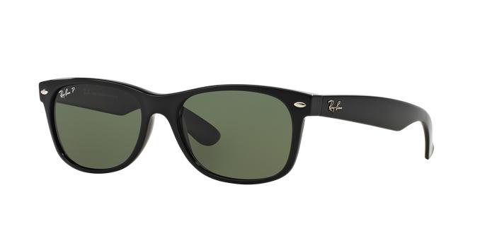 Óculos de Sol Ray-Ban New Wayfarer Classic RB2132LL 901/58 58 Polarizado