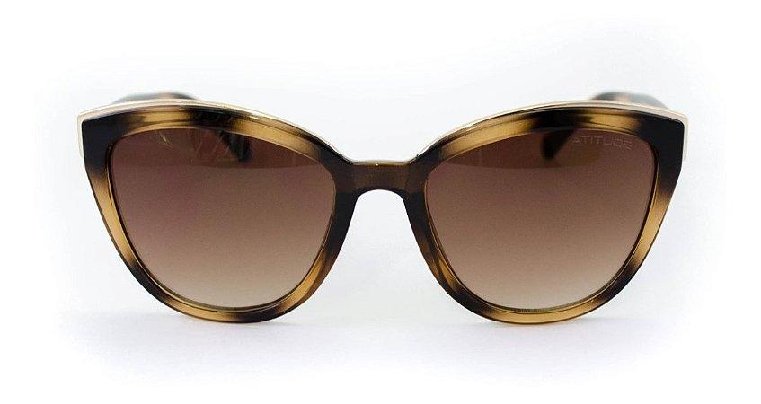 Óculos de Sol Feminino Atitude AT5429 G21