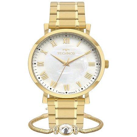 Relógio Technos Elegance Boutique Dourado 2035MQZ/K4B
