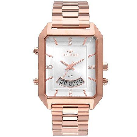 Relógio Technos Feminino Digital Rose T200AH/4K