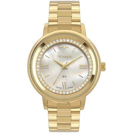 Relógio Technos Feminino Trend Dourado 2036MKX/4B