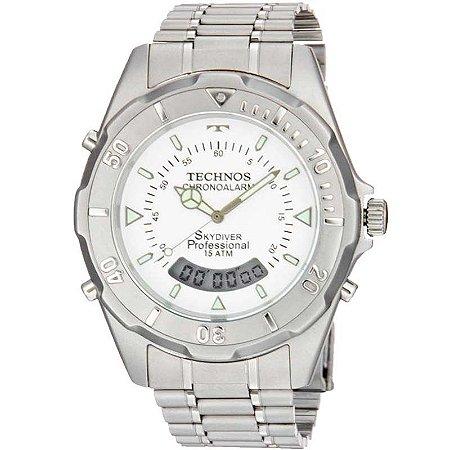 Relógio Technos Masculino Anadigi T20557/3B