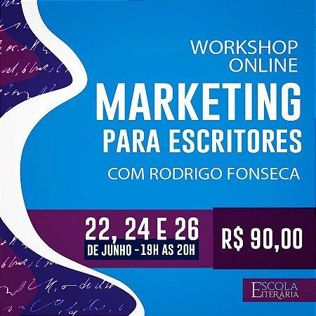 Workshop Online - Marketing para Escritores
