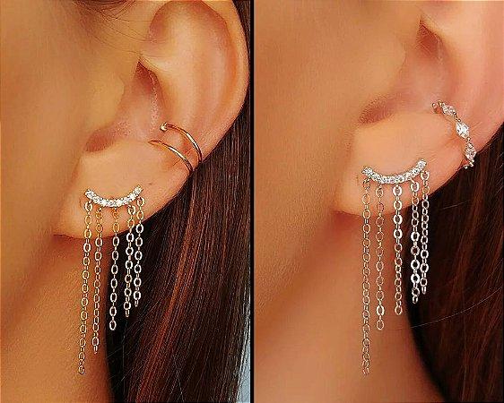 Ear Cuff Franja
