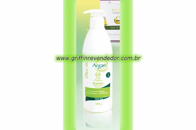 Shampoo de argan 500ml