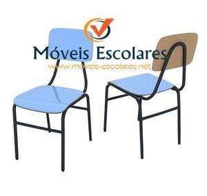 Cadeira Escolar Adulto Fórmica