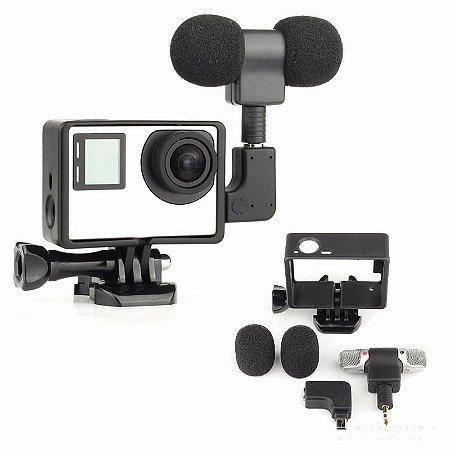 Microfone GoPro Hero 4