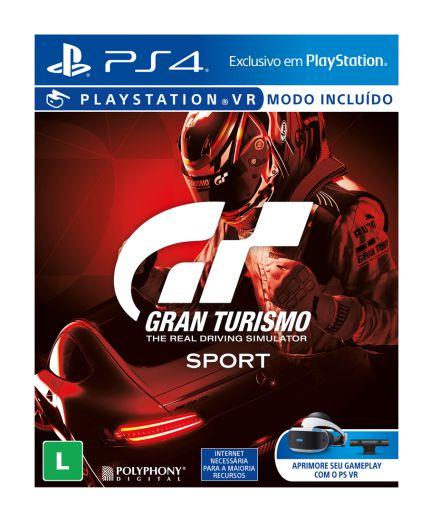 Gran Turismo para PS4 ( caixa de papelão )