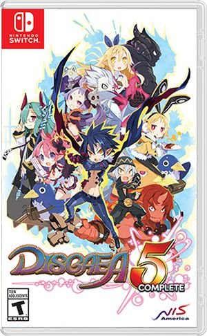 Disgaea 5 para Nintendo Switch