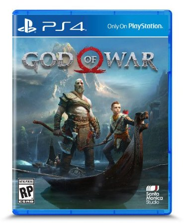 God of War para PS4 caixa de papelão