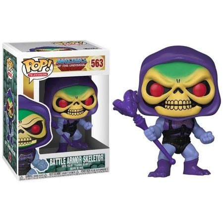 Funko Pop MASTERS OF THE UNIVERSE BATTLE ARMOR SKELETOR 563