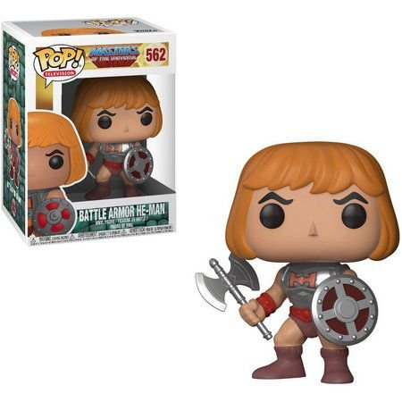 Funko Pop MASTERS OF THE UNIVERSE BATTLE ARMOR HE-MAN 562