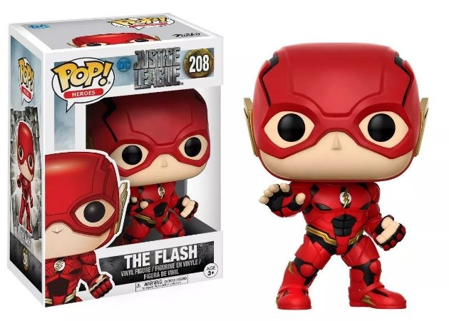 Funko Pop JUSTICE LEAGUE THE FLASH 208
