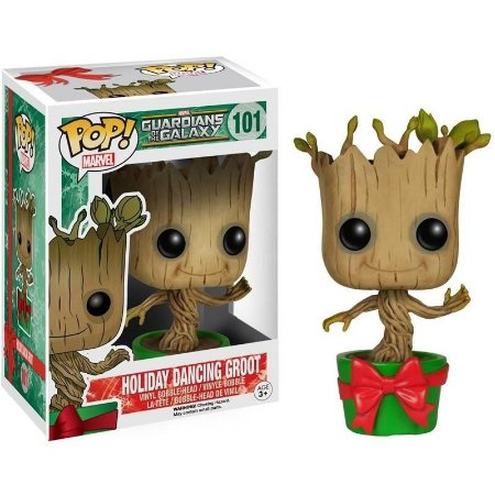 Funko Pop GUARDIANS OF THE GALAXY HOLIDAY DANCING GROOT 101
