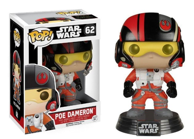 Funko Pop STAR WARS POE DAMERON 62