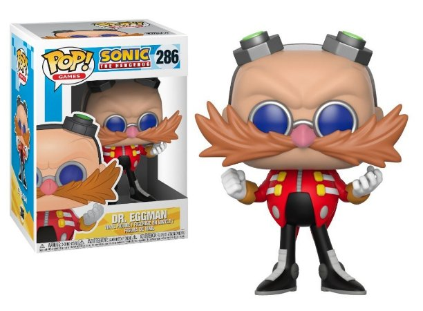 Funko Pop Sonic The Hedgehog Dr. Eggman 286