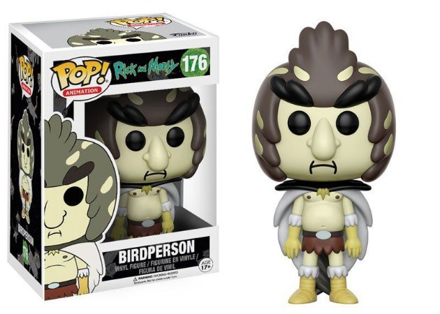 Funko Rick and Morty Birdperson 176