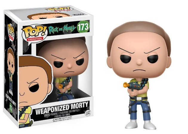 Funko Rick and Morty Weaponized Morty 173