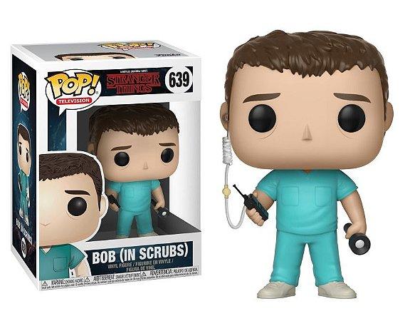 Funko Pop Stranger Things Bob in Scrubs 639