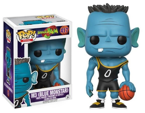 Funko Pop Space Jam M3 Blue Monstar 417