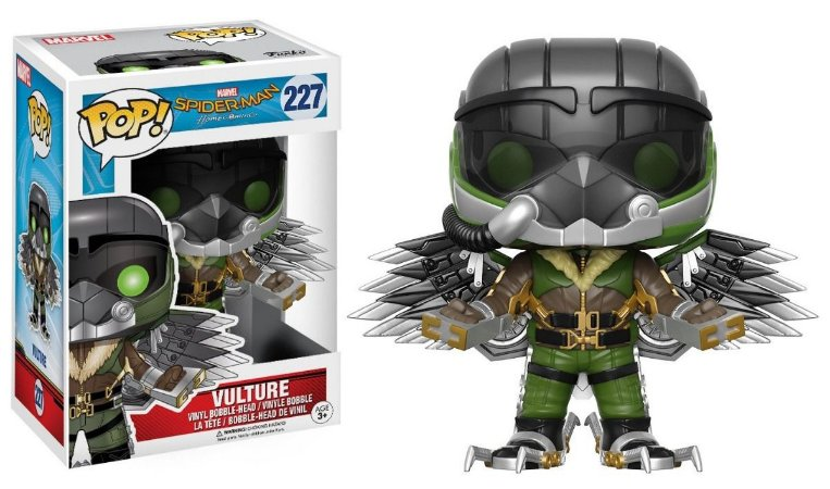 Funko Pop Spider Man Homecoming Vulture 227