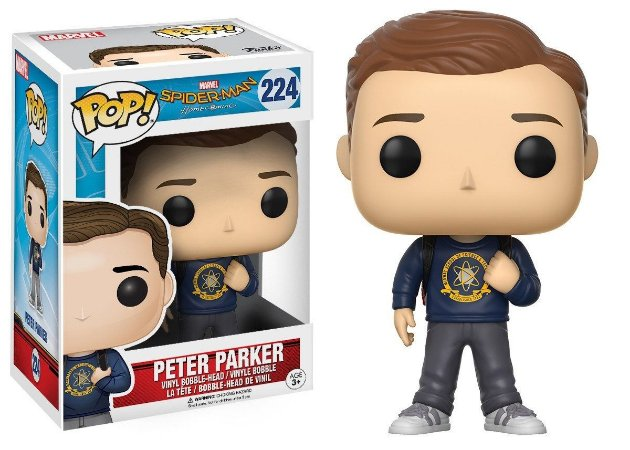 Funko Pop Spider Man Homecoming Peter Parker 224